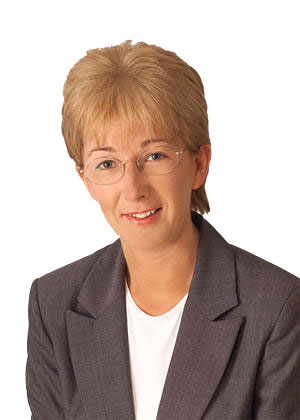 Mary Hanafin, T.D., Minister of State at the Department of Health and Children